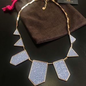 House of Harlow 1960 stingray 5 station necklace